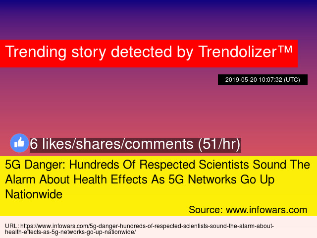 5G Danger: Hundreds Of Respected Scientists Sound The Alarm